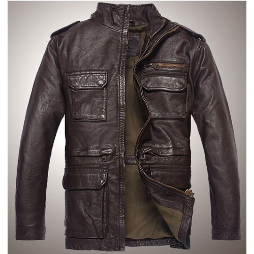 """Mens Cool Leather Jacket"""" - Click this photo and view this article"""