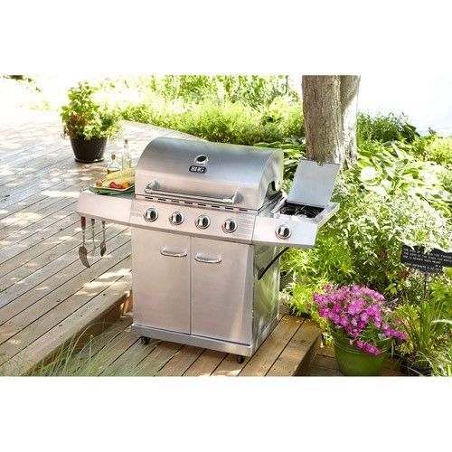 Better Homes And Gardens 4 Burner Stainless Steel Lp Gas