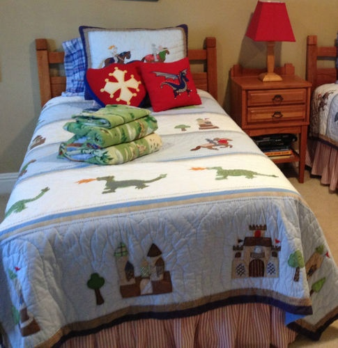 Knights Adventure Bedding By Pottery Barn Kids Twin