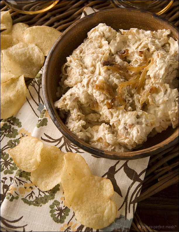 Caramelized Onion Dip - Skip the prefab stuff. Pass on the dehydrated ...