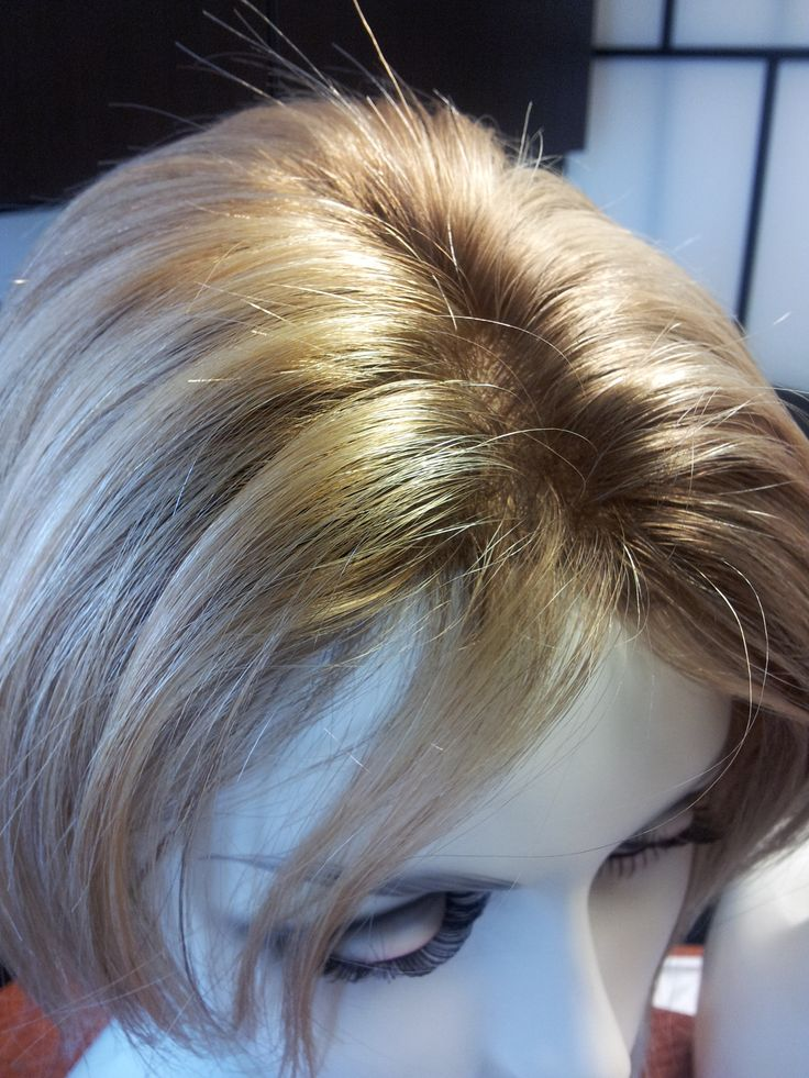 Hairpiece for thinning hair | hairstyles | Pinterest
