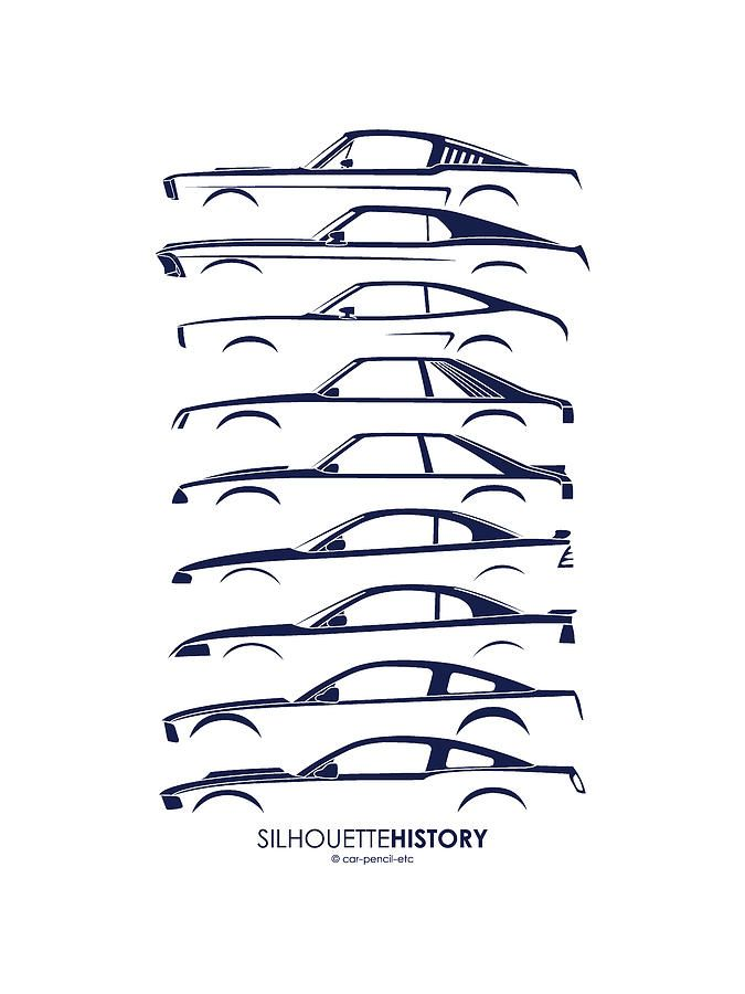 Mustang silhouette galleryhip com the hippest galleries