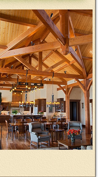 Homes :. Timber Trusses, Frame House Plans, Frame Homes, Post and Beam ...