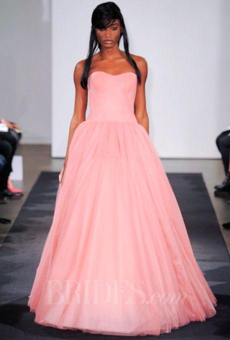 Vera Wang Wedding Dresses Fall 2014 Bridal Runway Shows