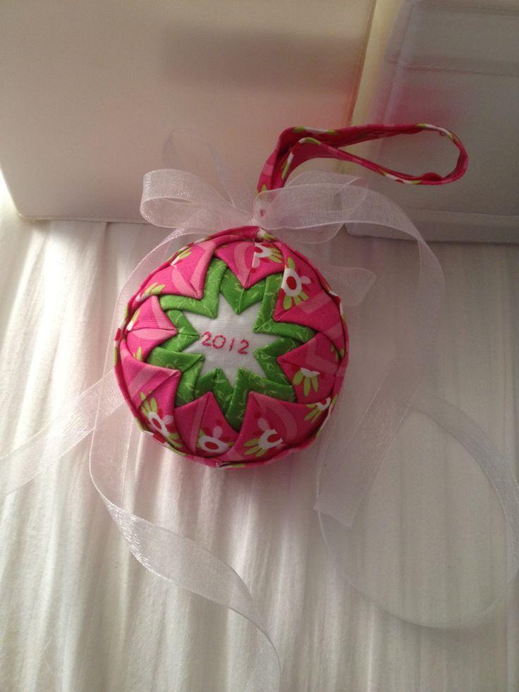 Homemade ornament christmas pinterest for Home made xmas decorations