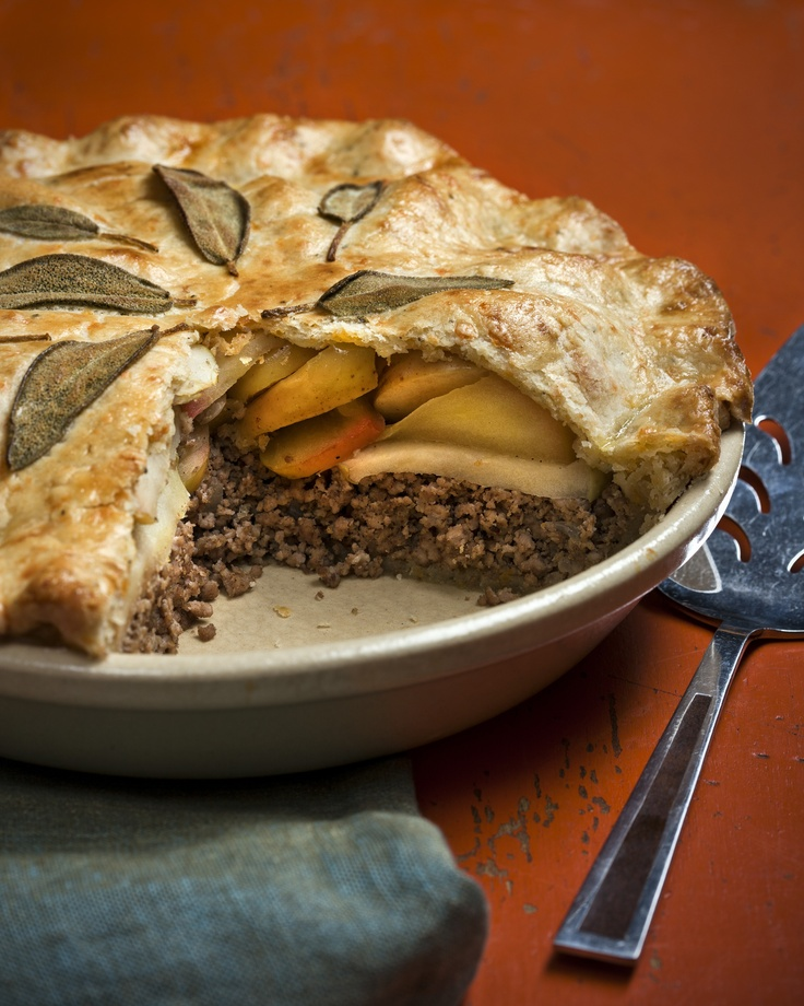 Pork and Apple Pie with Cheddar-Sage Crust from The Apple Lover's ...