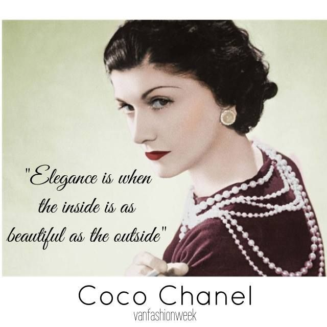 coco chanel quotes about fashion quotesgram. Black Bedroom Furniture Sets. Home Design Ideas