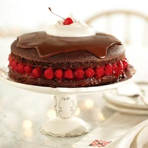 Black Forest Torte, this is the shortcut version from Pillsbury.