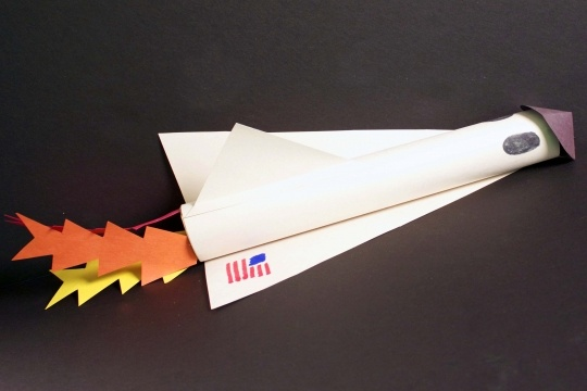 space shuttle craft ideas - photo #3