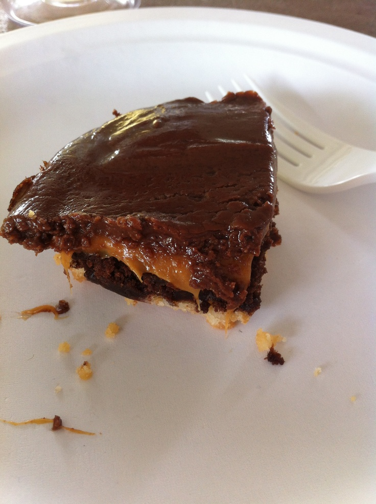 Twix brownies | completed ideas off pinterest | Pinterest