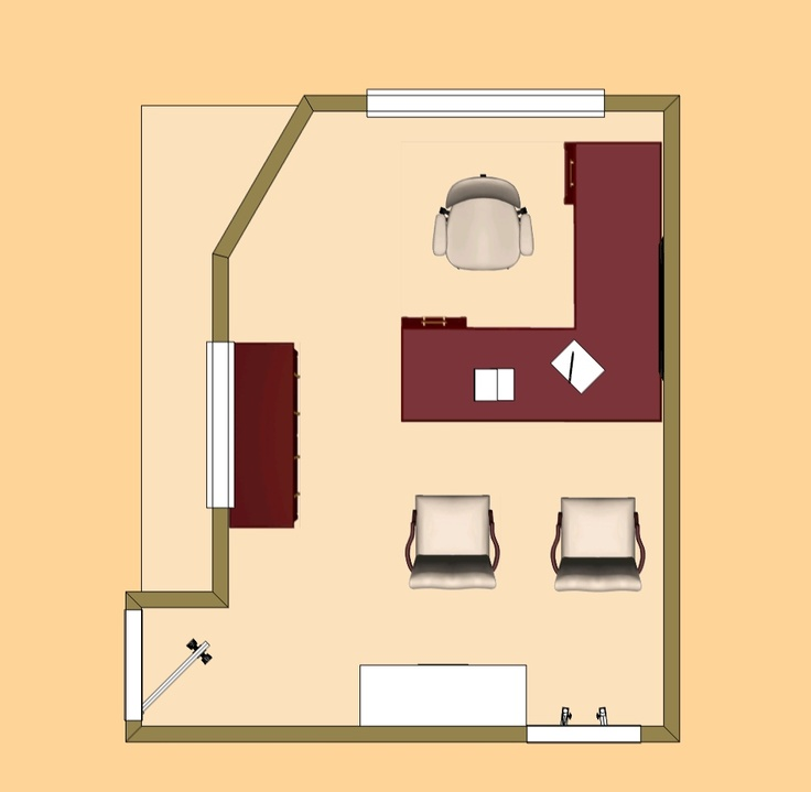 Manager's Office layout | Winsted at Whiterock Leasing