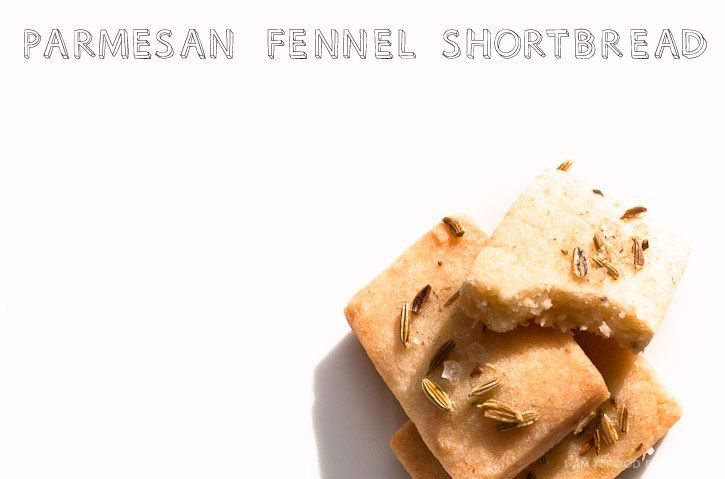 ... set aside a cookie jar for this. Parmesan Fennel Shortbread Recipe
