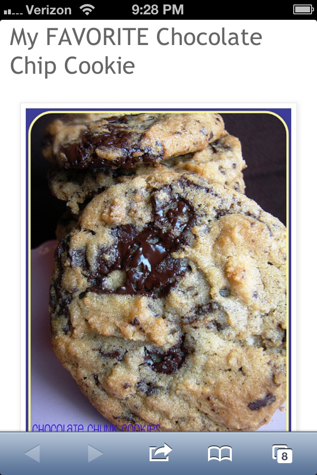 ... chocolate-chip-cookie.html?m=1 My favorite chocolate chip cookie