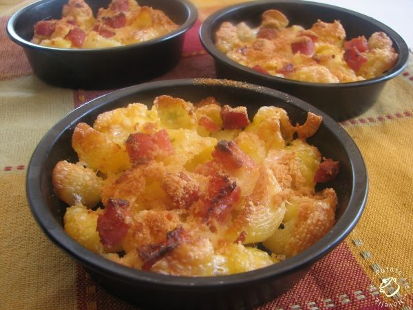 pasta al forno panna e pancetta | salato | Pinterest