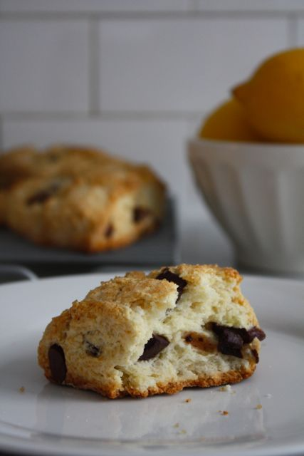 Chocolate buttermilk scones - these would be an awesome brunch dessert ...