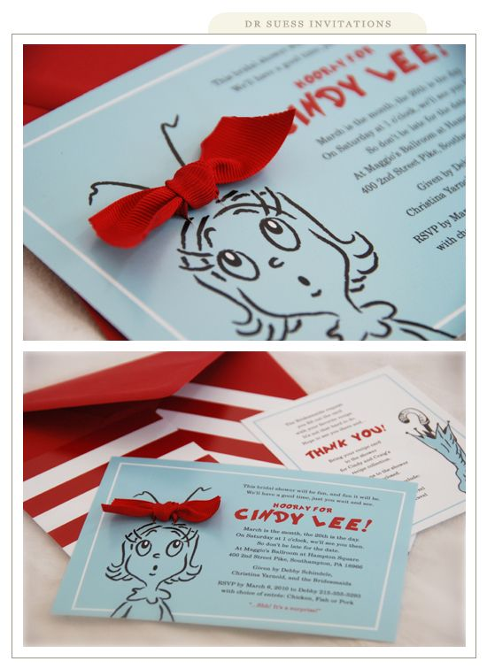 Dr Seuss day invites#Repin By:Pinterest++ for iPad#
