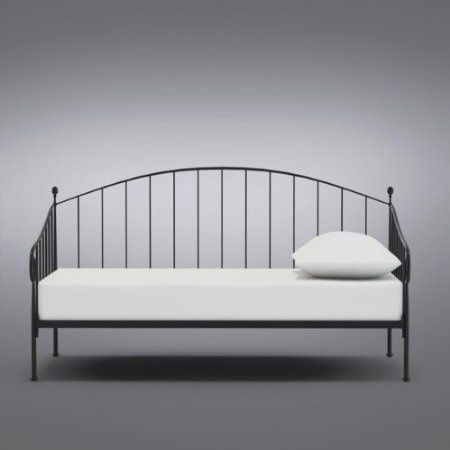 Pin by j a on ikea pinterest for Cheap metal twin bed frame