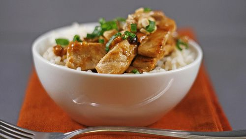 Quick Pork and Peanut Stir-Fry - Delicious, quick and easy!