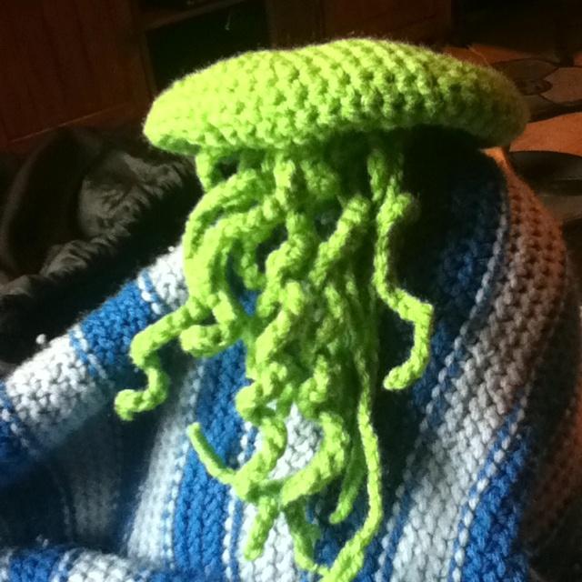 Crochet jellyfish | ALIY • inspiration | Pinterest