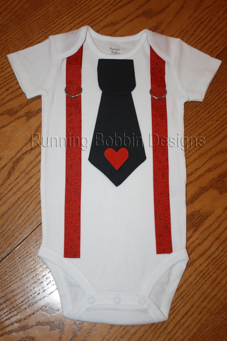 baby boy valentine's day clothes