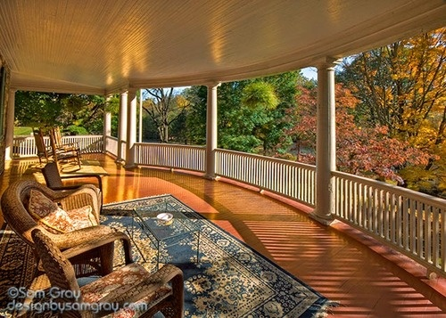 With A Nice Big Front Porch Home Pinterest