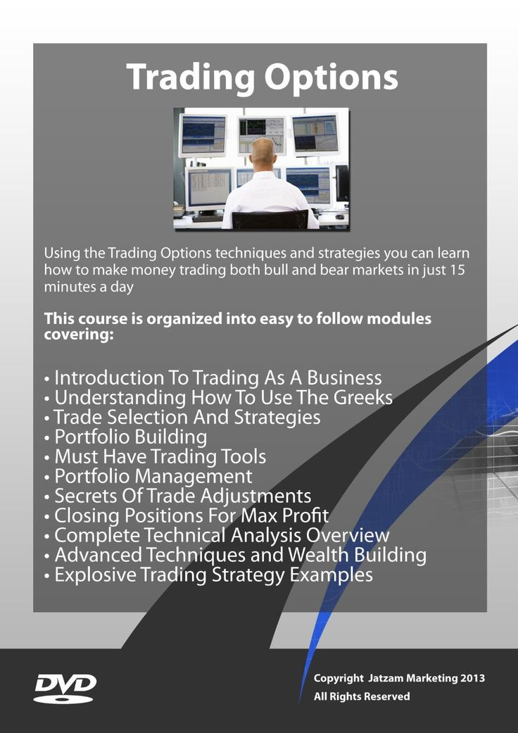 Trading options as a professional download
