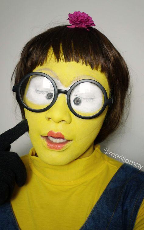 Minion Makeup Mugeek Vidalondon