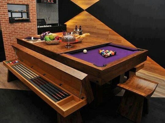 kitchen pool table diy crafts