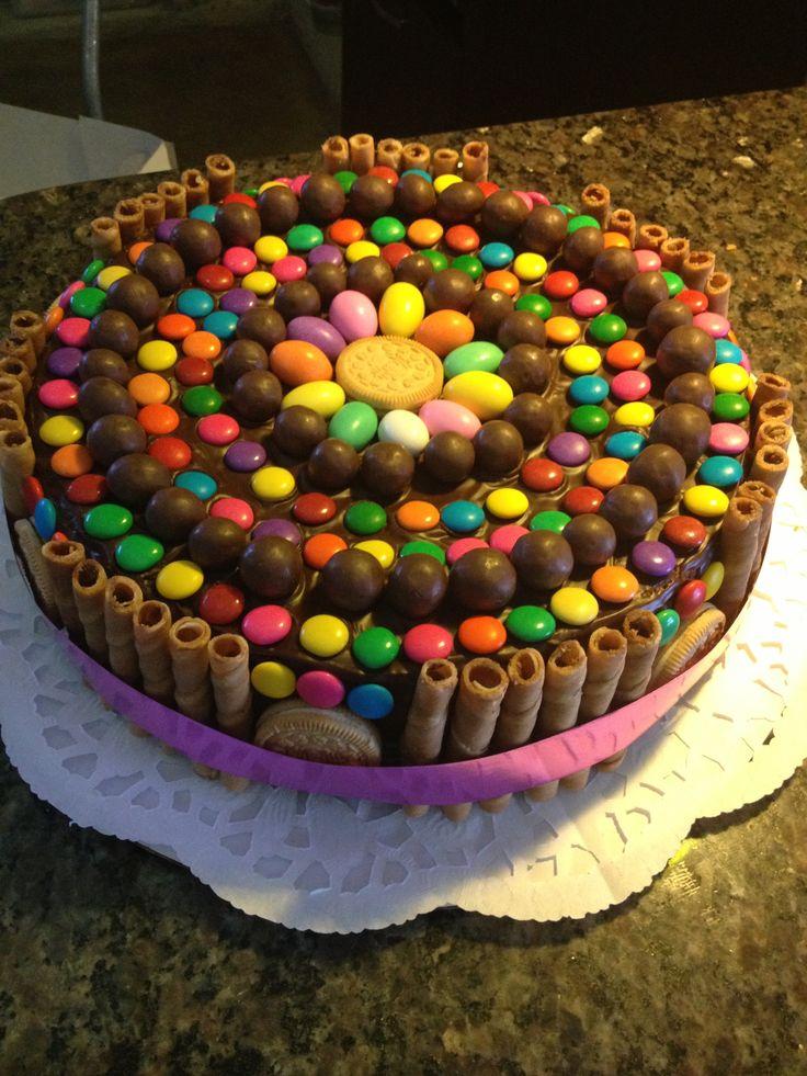 Torta golosinas mis creaciones pinterest for Decoracion de tortas sencillas
