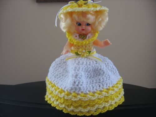 Crochet Air Freshener Dolls and Covers Crochet Toilet ...