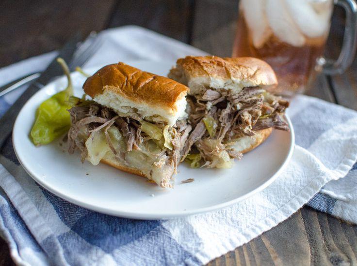 Slow-Cooker Italian Beef Sandwiches | Favorite Recipes | Pinterest