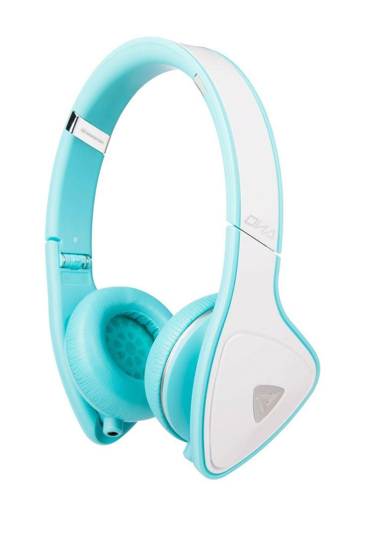 DNA On-Ear Headphones - White Teal