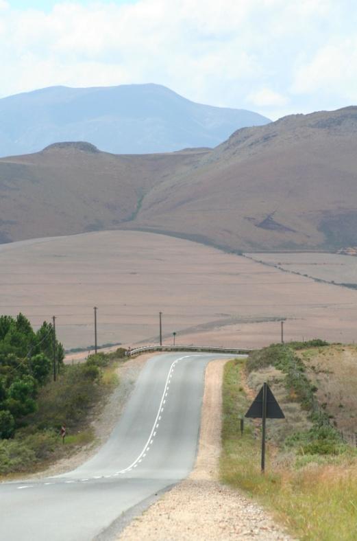 road to the coast of hermanus