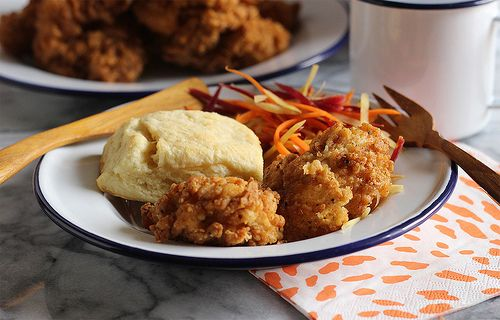 Rosemary-Brined Buttermilk Fried Chicken | Made In Our Kitchen: Easy ...