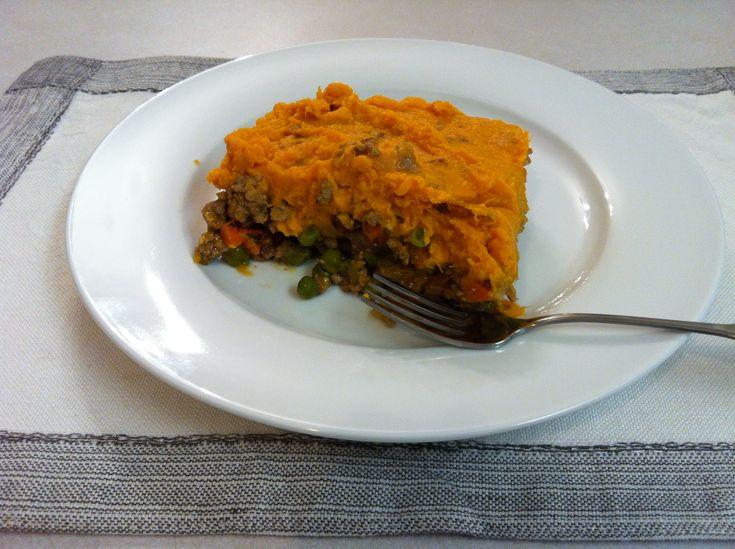Sweet Potato Turkey Shepards Pie Recipe — Dishmaps