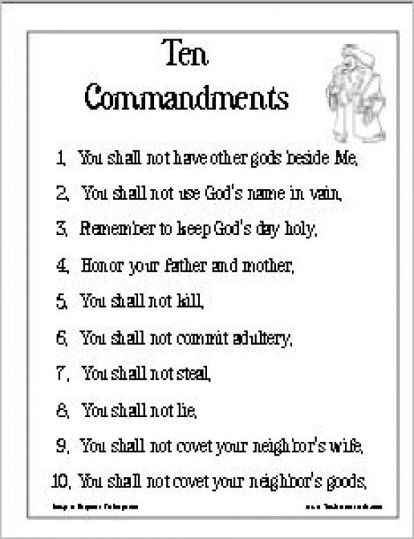 Pin 10 Commandments Catholic Medical Scrubs References List on ...