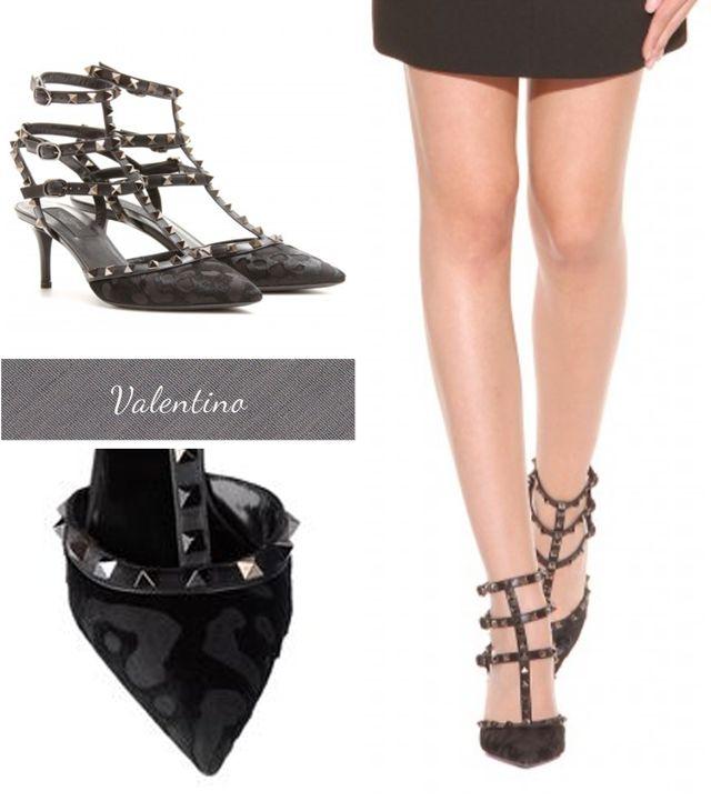 Valentino Rockstud shoes, Rockstud Noir Fall Winter 2013 shoes