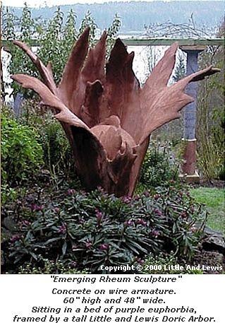 hypertufa sculpture