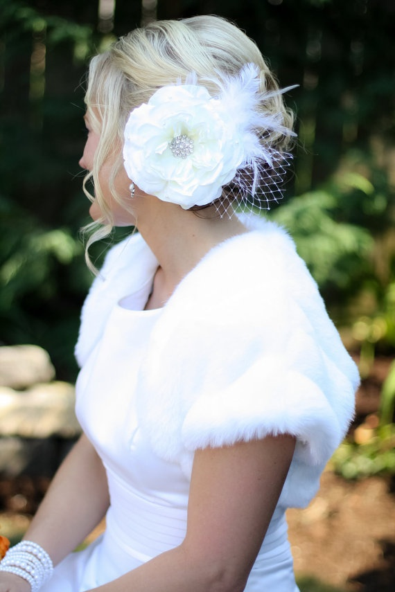 Weddings Hair Piece Wedding Fascinator Bridal by KrumpetsDesigns, $48 ...