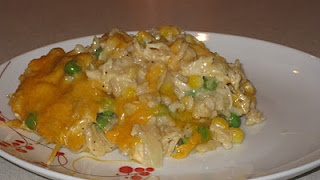 Creamy Chicken Corn and Rice Casserole | Food! Glorious Food!!! | Pin ...
