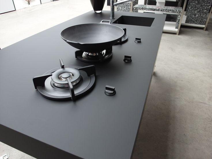 Blat kuchenna z umywalką zastosowana w technologii Nano-Tech