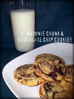 Brownie Chunk Chocolate Chip Cookies | Cookie Jar | Pinterest