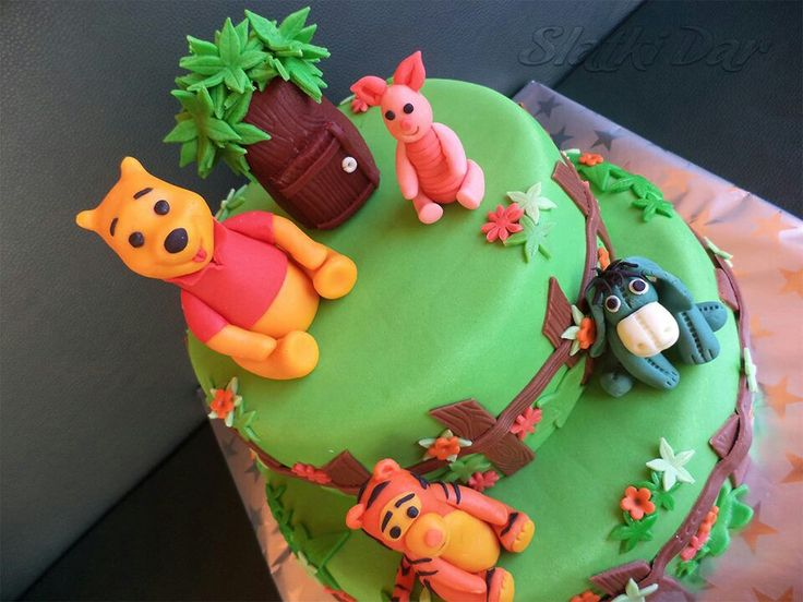 Winnie Pooh cake, Vini Pu torta