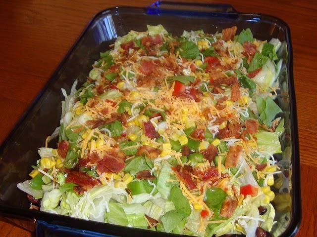 Southwestern Salad | salads | Pinterest