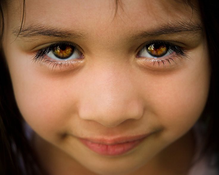 Beautiful brown eyes...