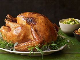 Herb-Roasted Turkey with Shallot Pan Gravy - we make this every year ...