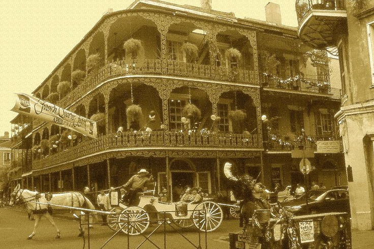 Old New Orleans, the French Quarter | Historic moments | Pinterest