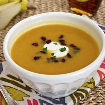 Roasted Butternut Squash and Pear Soup | Recipes: Main Dish Recipes ...