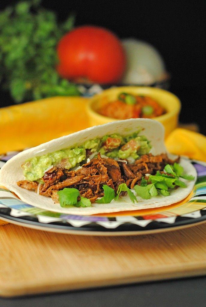 Shredded Chipotle Beef Tacos | Dinner | Pinterest