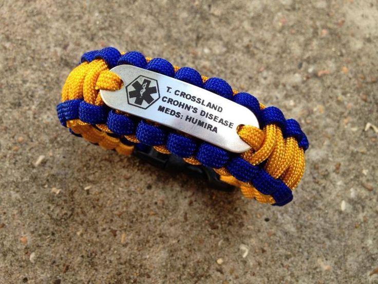wazoo survival gear medic alert bracelet